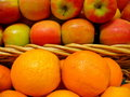 Differences Between Apples And Oranges Royalty Free Stock Images - 723549
