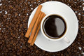 Cup Of Coffee And Coffee Beans Royalty Free Stock Photo - 7204545