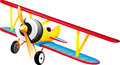 Bright Retro Biplane Stock Images - 72005124