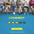 Customre Feedback Comment Vote Review Results Concept Stock Photo - 72020340