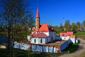 Priory Palace. Gatchina. St. Petersburg, Russia Royalty Free Stock Photography - 72049347
