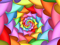 Pastel Psychedelic Rainbow Spiral Background Royalty Free Stock Photo - 72054225
