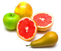 Pear, Grapefruit And Apples Stock Photos - 7216343