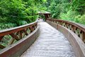 Wooden Bridge In The Country Royalty Free Stock Images - 72107079