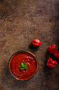 Hot Sauce From Chilli Peppers Stock Photography - 72115632