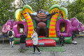 Bouncy Castle Royalty Free Stock Photo - 72125595