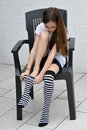 Striped Socks Stock Image - 72147841
