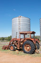 Antique Tractor Stock Photography - 72170042