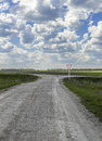 Crossroads Rural Roads And Main Royalty Free Stock Photos - 72175898