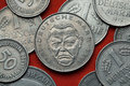 Coins Of Germany. German Politician Ludwig Erhard Stock Images - 72184374