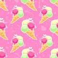Ice-cream Pattern Stock Image - 72217041