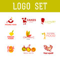 Vector Simple Flat Food Logo. Stock Images - 72300404