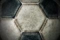 Detail Of An Old Soccer Ball Royalty Free Stock Images - 72334169
