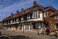 Medieval Building Near York Minster Cathedral. Royalty Free Stock Photo - 72345805