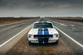 Old Car On The Road Royalty Free Stock Photography - 72370457