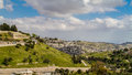 Valley Of Hinnom And Silwan Neighborhood In Jerusalem Royalty Free Stock Photos - 72392788