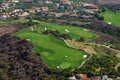 Pelican Hill Golf Course Aerial Royalty Free Stock Photo - 72413215
