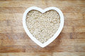 Rice In Heart Shape Bowl Royalty Free Stock Photos - 72439458
