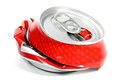Crushed Beverage Can Royalty Free Stock Photography - 72442777