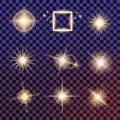 Creative Concept Vector Set Of Glow Light Effect Stars Bursts With Sparkles Stock Images - 72449554