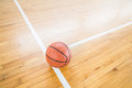 Basketball Ball Over Floor Royalty Free Stock Images - 72495769