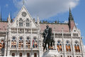 The Parliament Building In Budapest, Hungary. Architectural Details. Stock Photo - 72505950