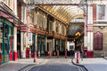 LONDON/UK - MARCH 7 : View Of Leadenhall Market In London On Mar Royalty Free Stock Photography - 72517897