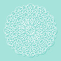 Mandala White Lace Ornament Royalty Free Stock Image - 72536206