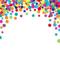Colorful Abstract Spot Background Royalty Free Stock Photography - 72601117