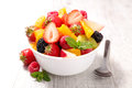 Fruit Salad In Bowl Royalty Free Stock Photo - 72633415