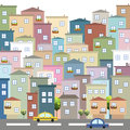 Colorful City, Houses For Sale / Rent. Real Estate Stock Photos - 72651433