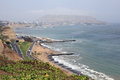 Costa Verde, Lima Royalty Free Stock Images - 72657689