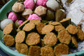 Sweet Cakes At The Market In Bali, Indonesia Royalty Free Stock Image - 72657976