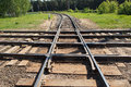 Multiple Railroads Crossing Royalty Free Stock Photography - 72673037