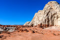 Toadstool Trail In Utah North Of Page. Grand Staircase Escalante National Mon. Royalty Free Stock Images - 72673729