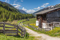 Old Farmhouse In South Tyrol Royalty Free Stock Images - 72677869