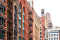 Block Of Buildings In Soho Manhattan, New York City Stock Photo - 72682530