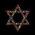 Star Of David Shape Royalty Free Stock Photography - 7272307