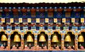 Bhutan Buddhism Prayer Wheels In Temple Royalty Free Stock Photos - 72712418