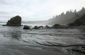 Tide Coming In At Ruby Beach Stock Photos - 72776953