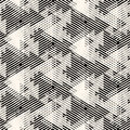 Geometric Pattern With Striped Triangles Royalty Free Stock Photography - 72779307