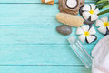 Close Up View Of Spa Theme Objects Royalty Free Stock Photo - 72786625