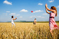 Red Ball In Game. Royalty Free Stock Photo - 7288935