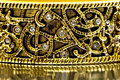 Close-up Of Gold Bracelet Royalty Free Stock Photos - 7289768