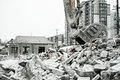 Demolition Of Buildings In Urban Environments Royalty Free Stock Image - 72816316