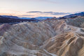 Sunrise At Zabriskie Point In Death Valley National Park, California, USA Royalty Free Stock Image - 72829256