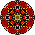 Mandala In Crazy Colors Royalty Free Stock Photography - 72874457