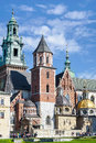 KRAKOW, POLAND/EUROPE - SEPTEMBER 19 : Wawel Cathedral In Krakow Royalty Free Stock Photo - 72879895