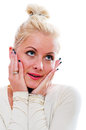 Portrait Of The Surprised Woman Stock Photography - 27763122