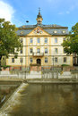 City hall in Kirn, Germany Stock Images